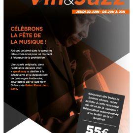 Soirée Jazz et Vins, dans l'ambiance d'un speakeasy…