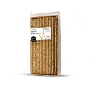 Crackers herbes de Provence  – 1001 Huiles – 130g