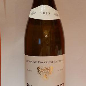 Coteaux Bourguignons   – Blanc sec – 2018 – Domaine Thevenot Le Brun – 75cl